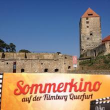 Sommerkino-Slogan [(c): FilmBurg Querfurt]