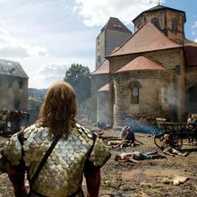 Burghof in 'Die Päpstin' [(c): © Constantin Film] ©© Constantin Film