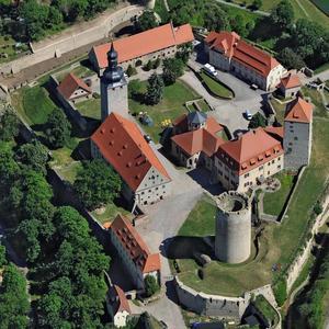 Luftbild der Filmburg Querfurt © Hajo Dietz [(c): © Hajo Dietz]