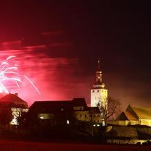 Feuerwerk am Freitagabend [(c): Tilo Lautenschläger]