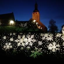 FilmBurg Querfurt - winterliche Illuminierung [(c): FilmBurg Querfurt] ©FilmBurg Querfurt