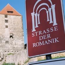 Burg Querfurt, größte Burg an der Straße der Romanik [(c): FilmBurg Querfurt]