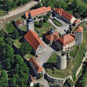 Luftbild der Filmburg Querfurt [(c): © Hajo Dietz]